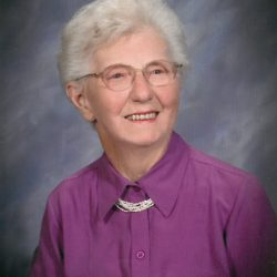 Laurayne Mauss, New Albin, Iowa, March 22, 2017