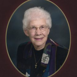 Marian S. Benson, Elkader, Iowa, October 27, 2017