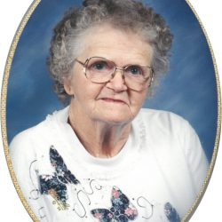 Delpha Emma Bowman, Garber, Iowa, November 4, 2017