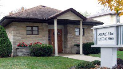 Leonard - Grau Funeral Home 200 Clermont Street Elgin, Iowa 52141 563-426-5321