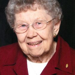 Hazel M. Jensen, West Union, Iowa, July 4, 2017