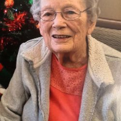 Arleta Schaller Vandersee, Fayette, Iowa, February 13, 2021