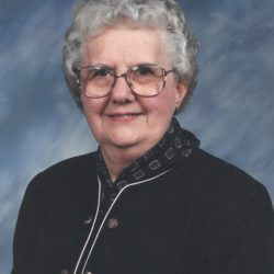 Clarian Thelma (Thompson) Gunderson, Postville, Iowa, May 8, 2021