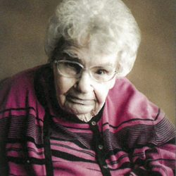 Lucille Holthaus, Ossian, Iowa, July 22, 2021